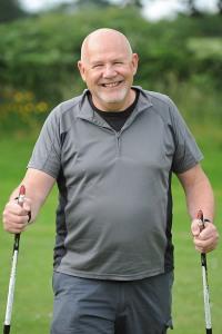 Nordic walker Ian Burgess