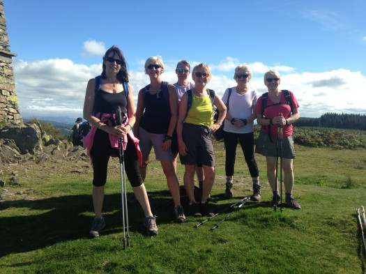 North Cheshire Nordic Walking Lake District Trip Sept 2016
