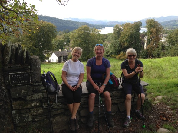 Nordic Walking Lake District Trip Sept 2016