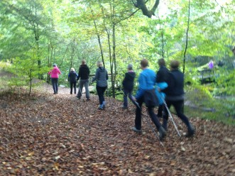 Nordic Walking in Styal Cheshire