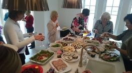 North Cheshire Nordic Walking Christmas Lunch 2016