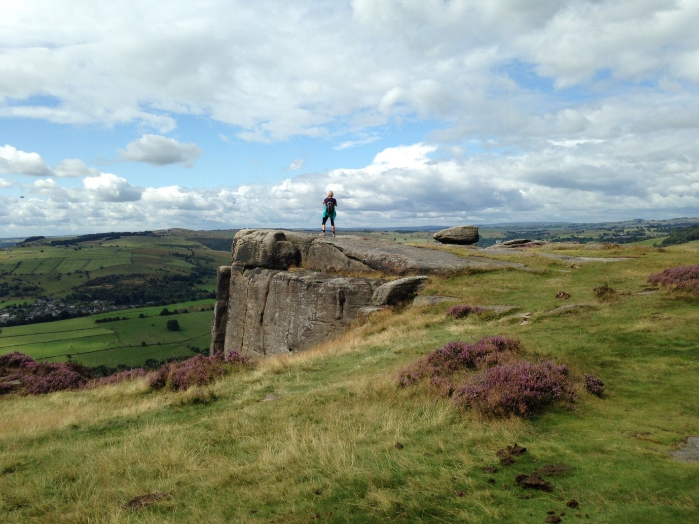 Nordic walking in the peak district
