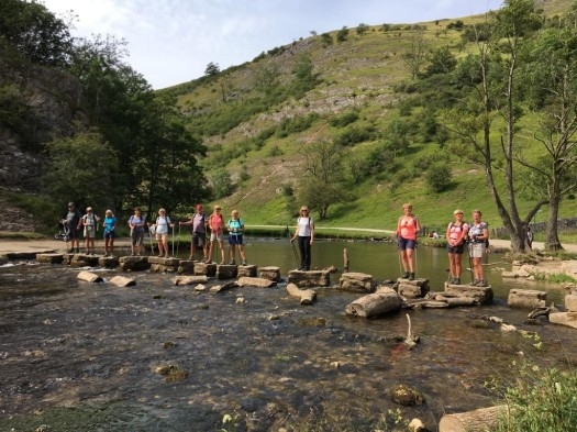 Ilam Dovedale Stepping stones Jul 2019